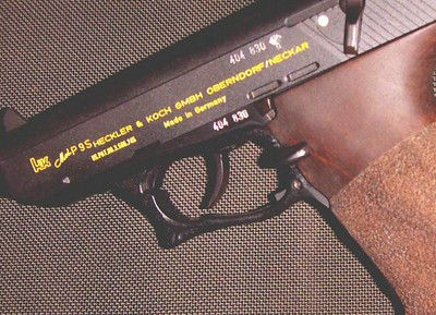 Heckler & Koch P9S 45 ACP Target with Nill match grip.