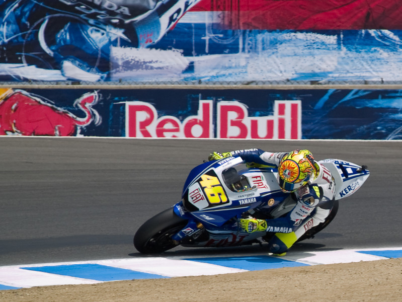 Rossi riding smooth