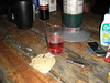 box-wine and cookies