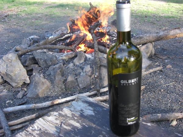 gilbert claret and fire