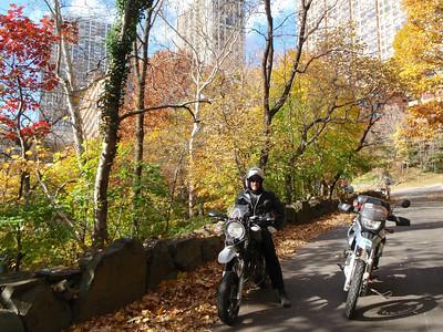 11-08 NYC ride with Joanna