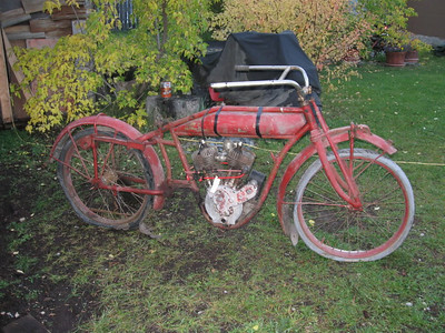 1916 Indian Powerplus Before I Got It