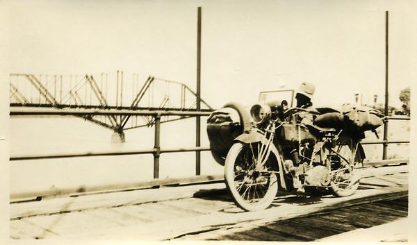 1923 Motorcycle Trip