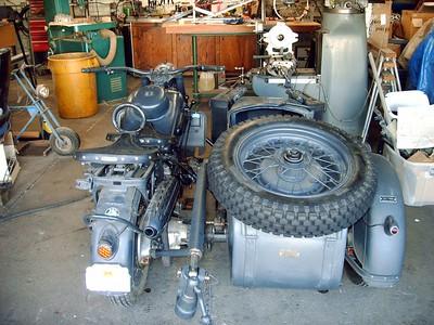 1942 BMW Sidecar