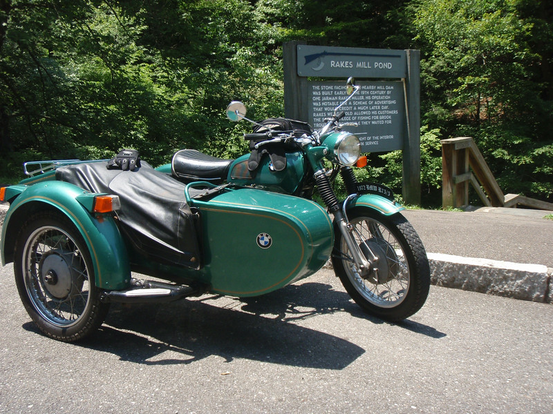 Heading to Willville Motorcycle Camp for a Ural Rally.