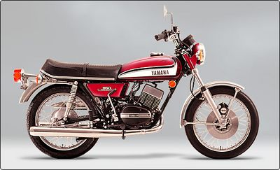 1973 Yamaha Factory Photo of the RD350