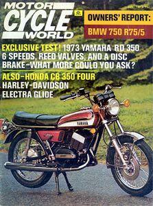 - - Motorcycle World Magazine (Jan 1973) - -
