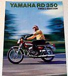 - - 1973 RD350 Brochure - -