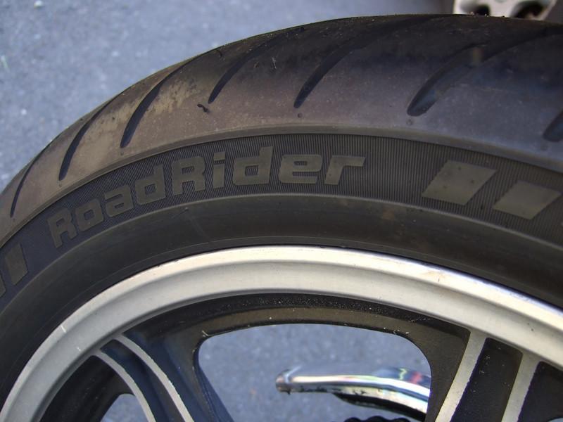 New (~50 miles) Avon Road Rider rear.