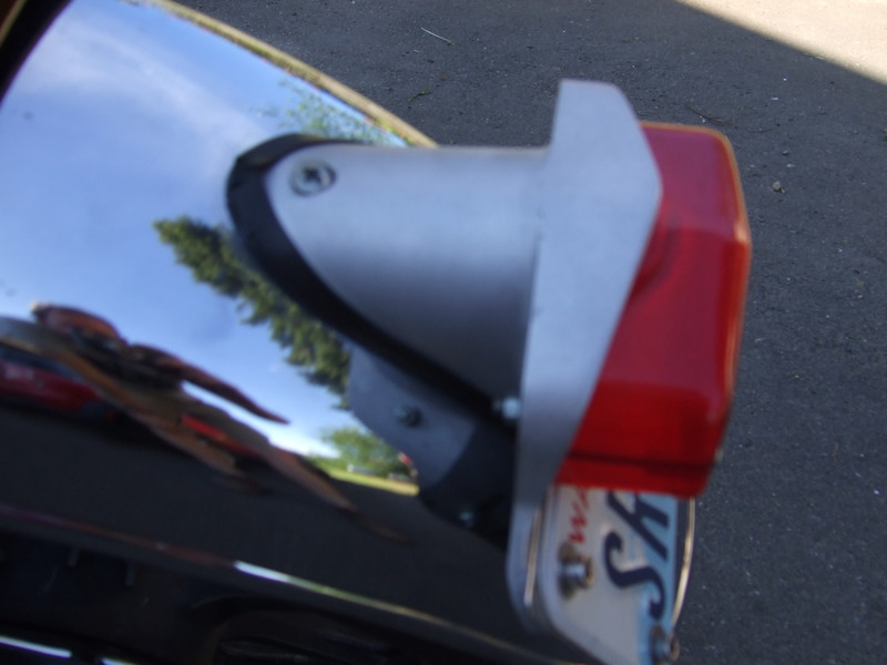 BSR cast alloy rear tailight housing.