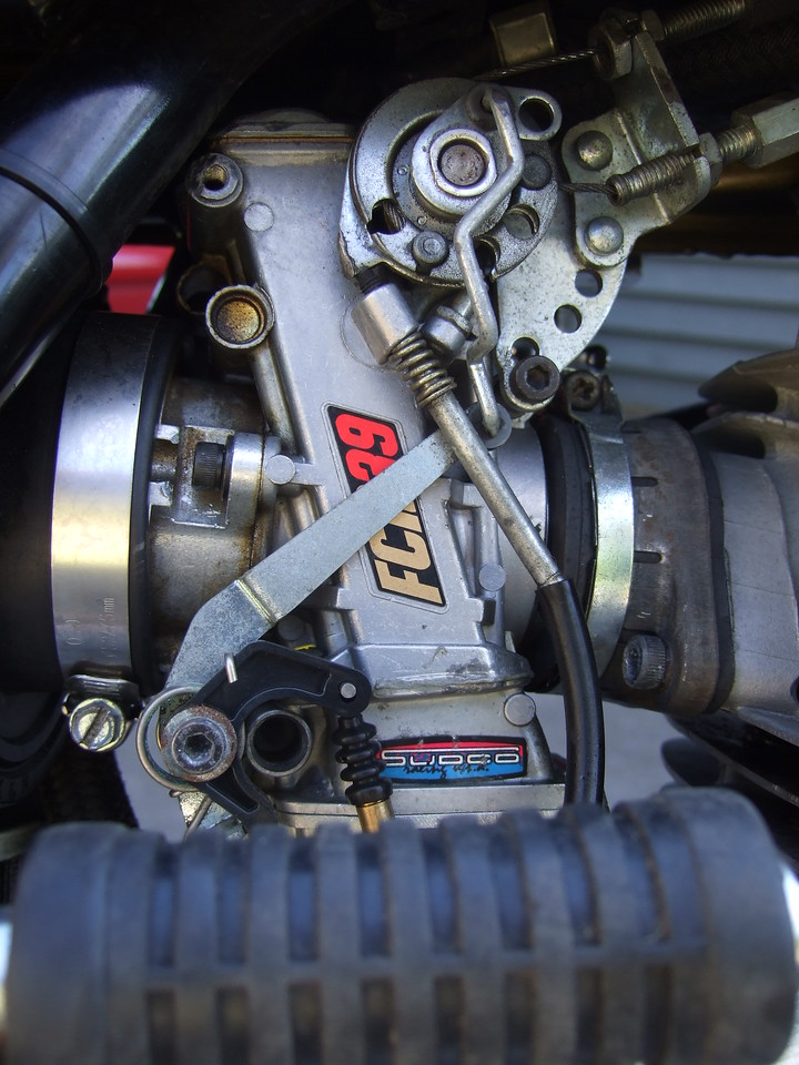 39mm Keihin flatslide pumper carb.