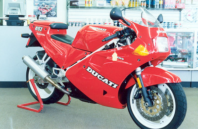 1990 Ducati 851 Desmoquattro