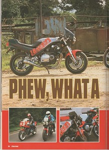 """The bike even got featured in Street fighter Magazine!  So were is now? I asked  '' I had a another pretty big accident on it and I sold it in bits"""""""