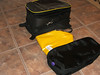 Brand new, never mounted BMW tank bag and unopened raincover