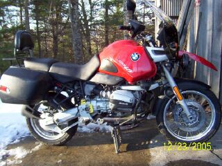 FOR SALE: 1998 BMW R1100GS, 71,000 miles. Asking $5450. Its a great go anywhere bike. And it is ready to go, anywhere.
