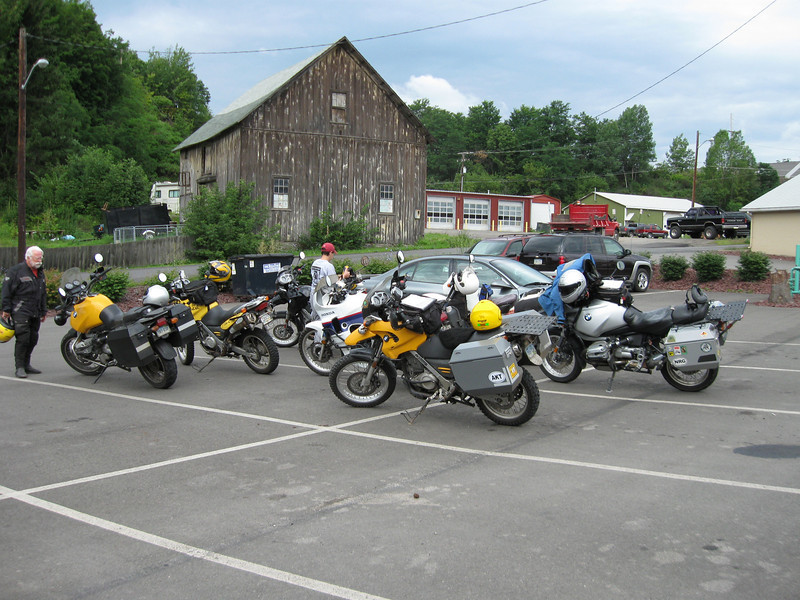 Pulling up to the Chatterbox Restaurant in Canton for Thursday's breakfast.