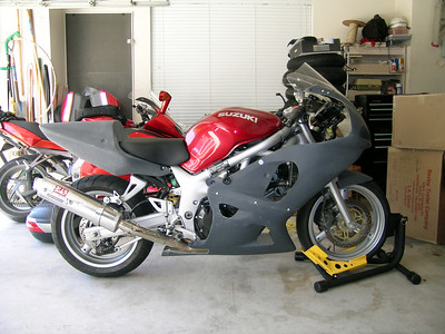 2001 Suzuki SV650S - Street to track conversion