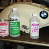 Bill Hirsch Automotive products gas tank prep and liner kit.