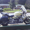 So I bought the bike and picked it up at Bill's house in Martinsville.