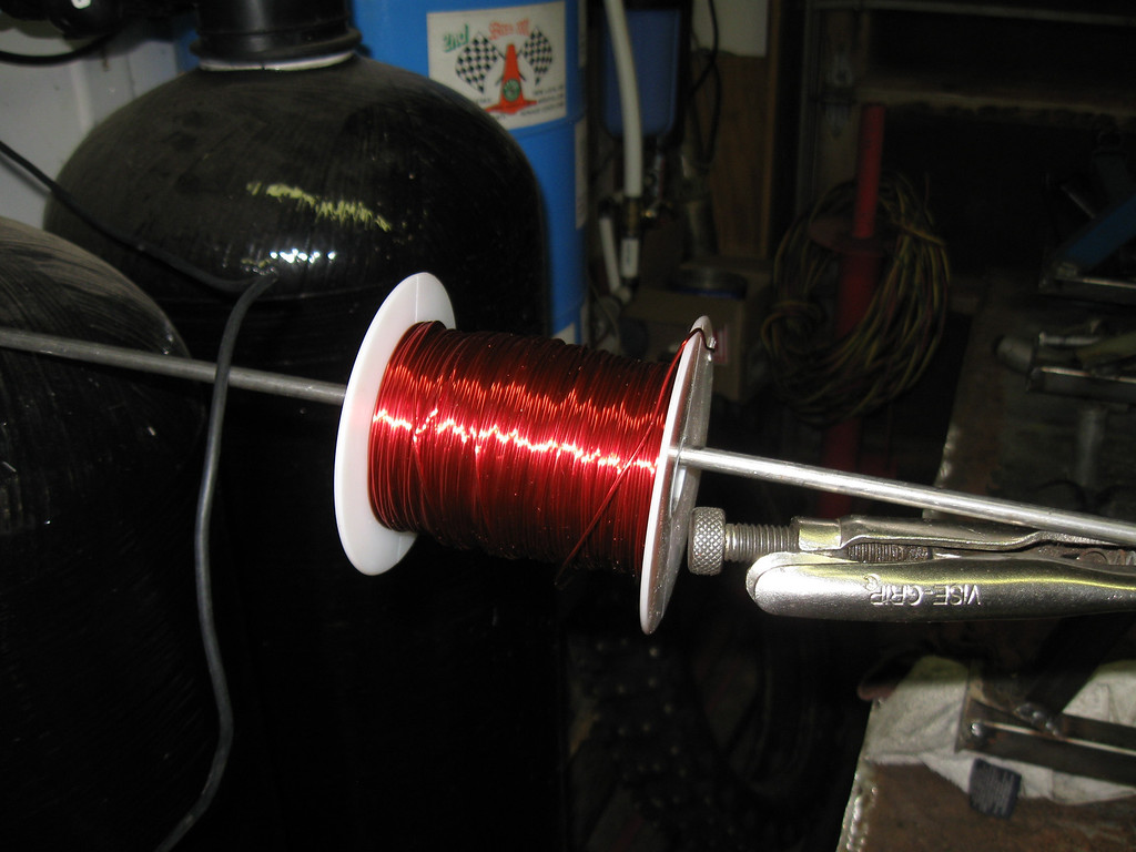 Spool after winding