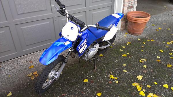 2002 Yamaha TT-R90