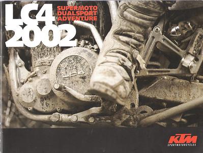 2002/2003 KTM LC4 BROCHURE