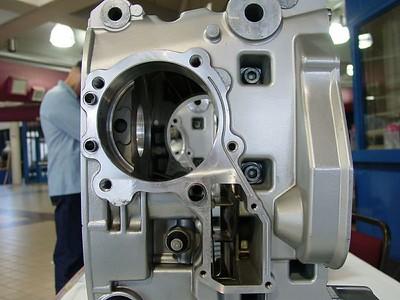Looking Thru A Boxer Motor
