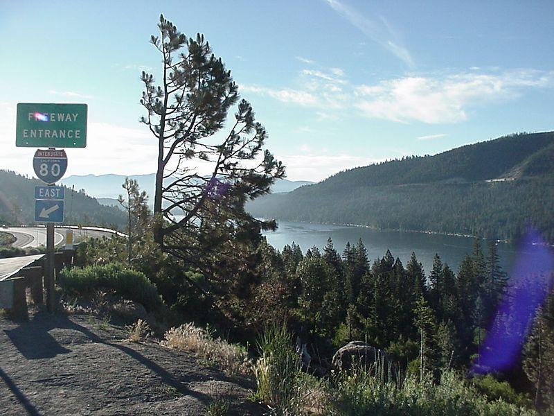 Donner Lake, early July 5th, 2003