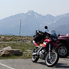View of Long's Peak from Trail Ridge Road, going to Paonia.