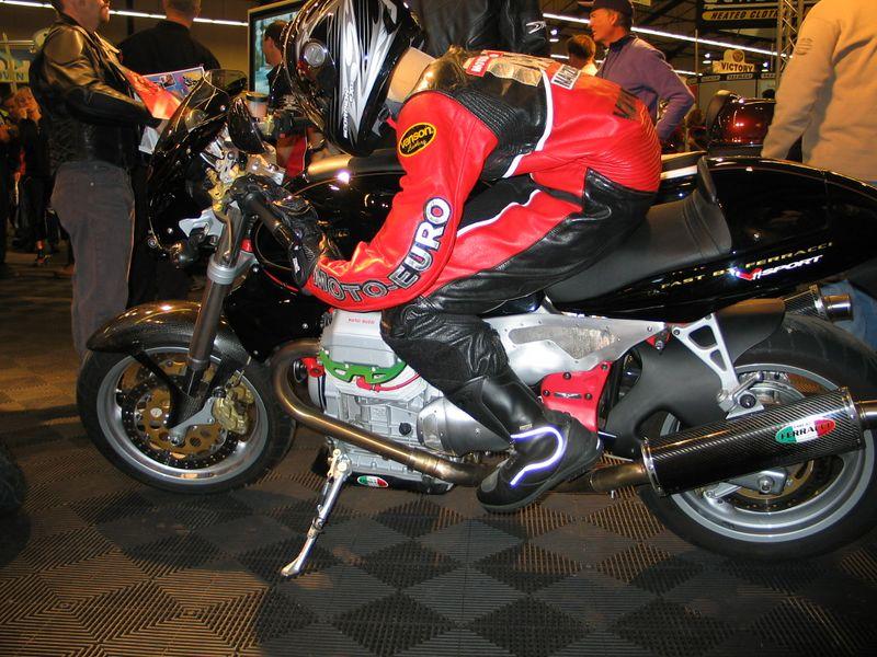Ferracci fast Moto Guzzi.