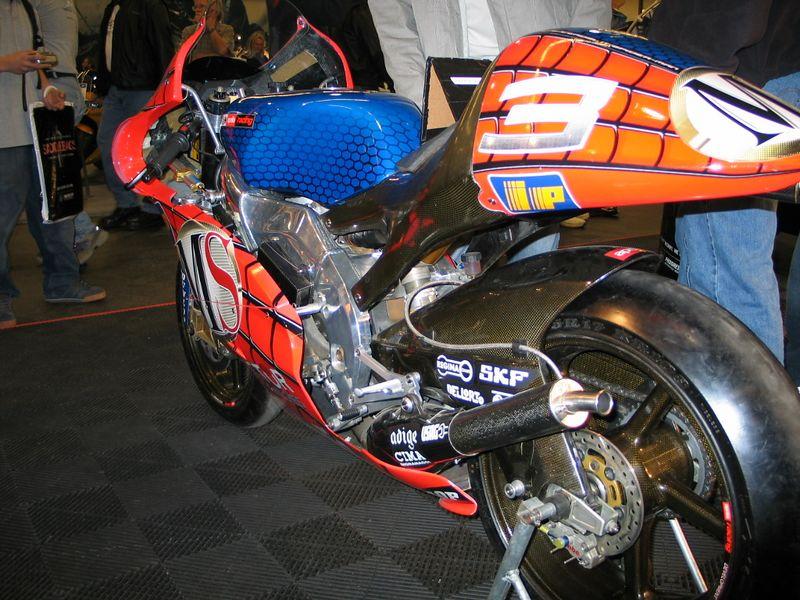 Aprilia's MotoGP 250 racer.