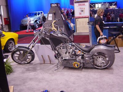 Another view of the Shelby Chopper