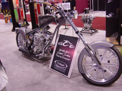 Shelby Chopper built by OCC (Orange County Choppers)