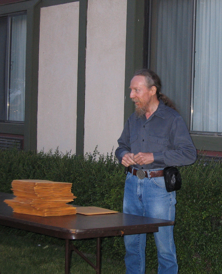 Dan the rally volunteer