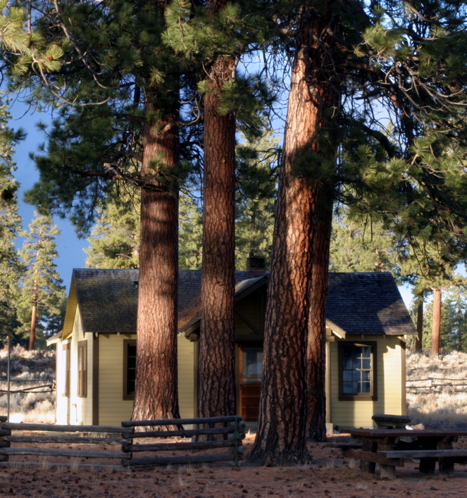 """<font size=""""+3"""">Another cute little bungalo at Cabin Lake."""