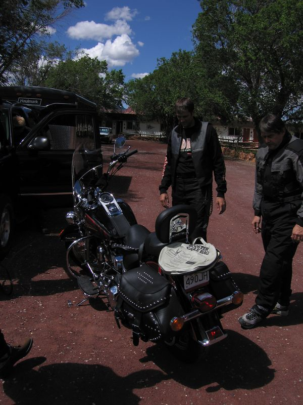How many BMW riders does it take to start a Harley