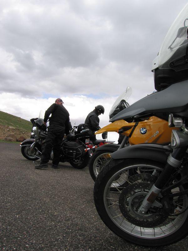 On Boulder Mountain's summit