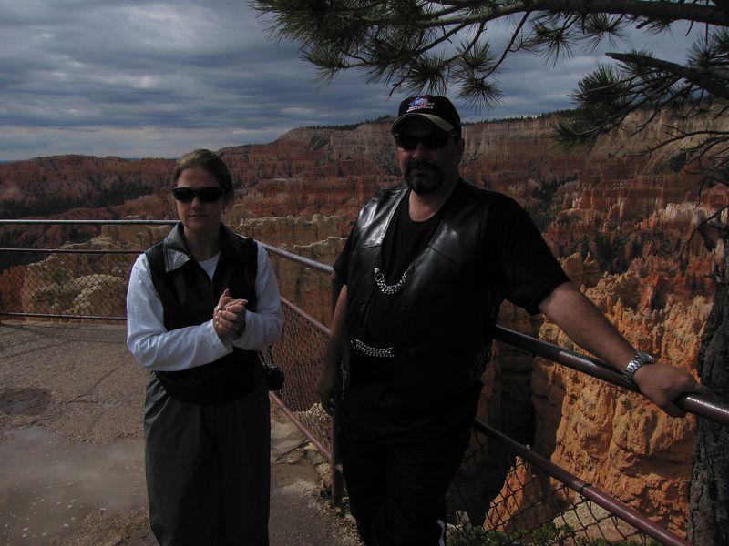 Rob and Jennifer at Bryce