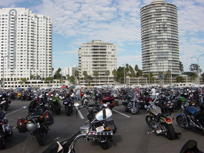 CYCLE WORLD INTERNATIONAL MOTORCYCLE SHOW in LONG BEACH , CA