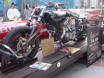 Twin Harley Bonnivelle Bike