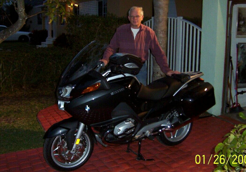 The evening after I just picked it up from the PO. I'm at TVR member Ed Simpson's Miami Springs home.