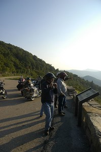 Close to the end of Skyline Drive