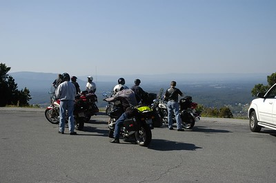 First pull out on the Skyline drive