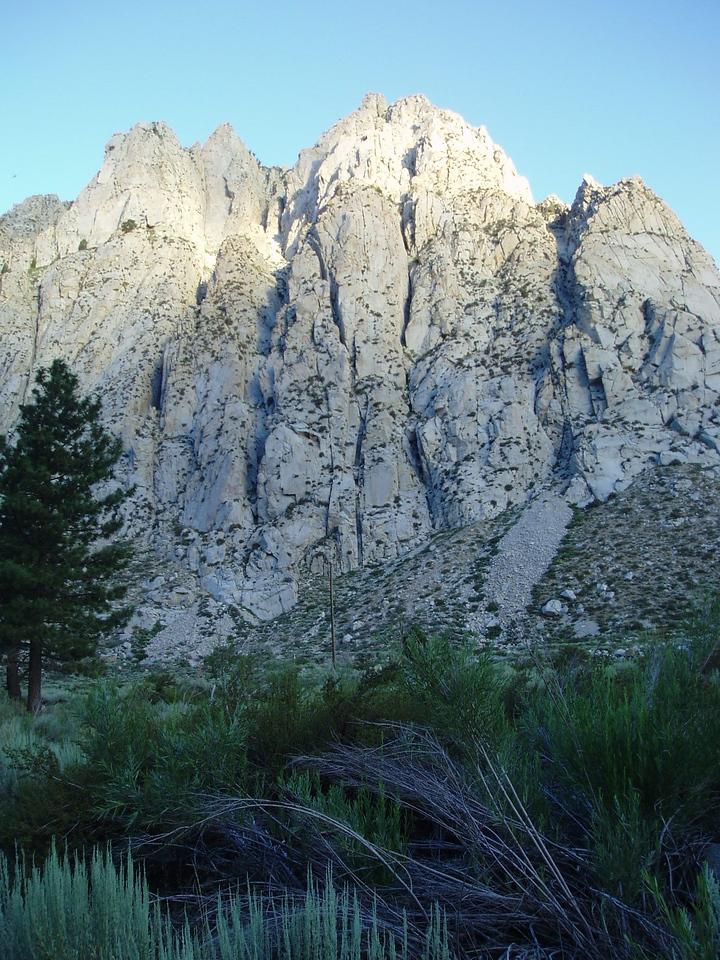 Rocky peaks.