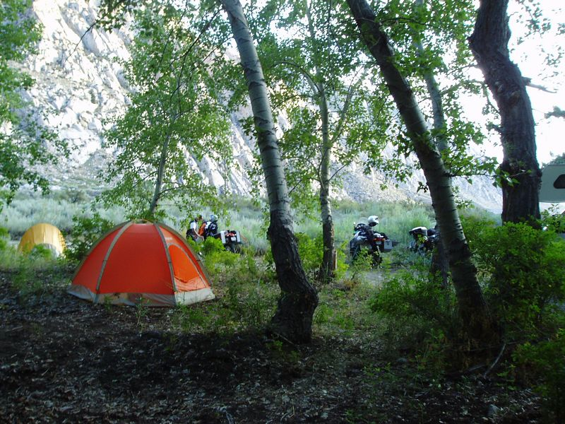 Yet more camp shots.