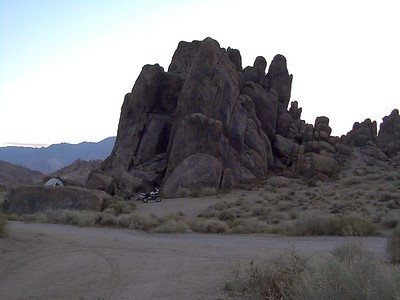 10-23-05 Alabama Hills and Death Valley Alone