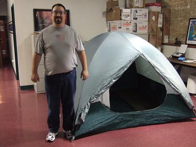 Prepping Eureka Dome XT Ten