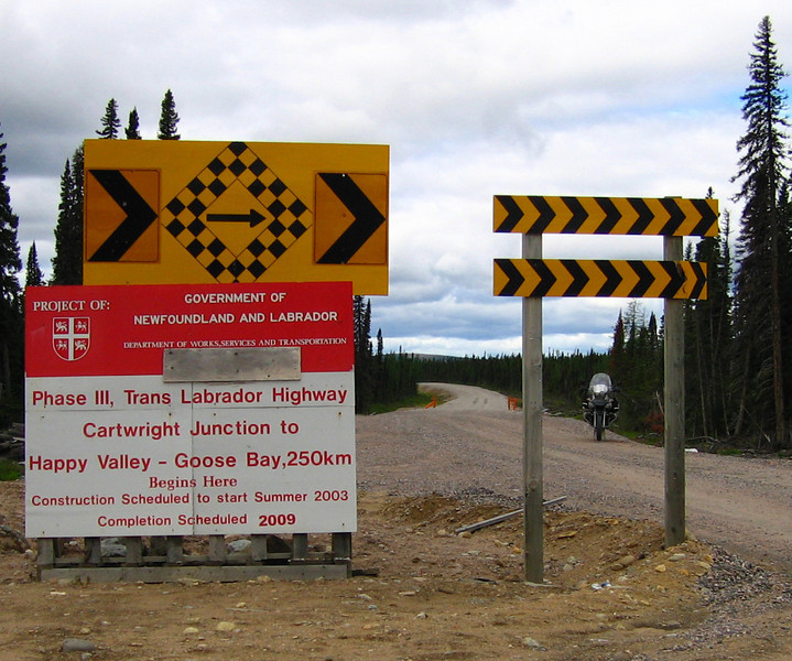 """This Road will be going thru a possible Canadian National Park, The Mealy Mountains <a href=""""http://www.advrider.com/forums/showthread.php?t=217444"""">http://www.advrider.com/forums/showthread.php?t=217444</a>"""