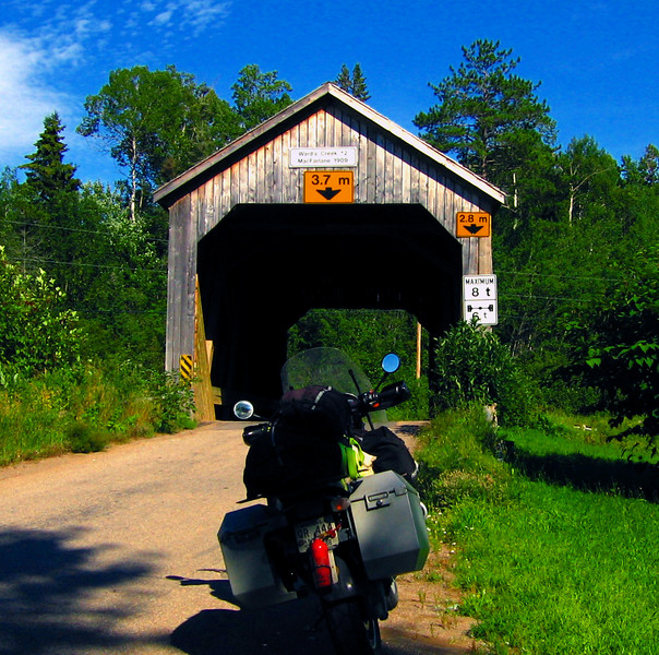"""The quiet rual bridge <br /> Bay of Fundy Trail<br /> New Brunswick <a href=""""http://www.advrider.com/forums/showthread.php?t=217444"""">http://www.advrider.com/forums/showthread.php?t=217444</a>"""