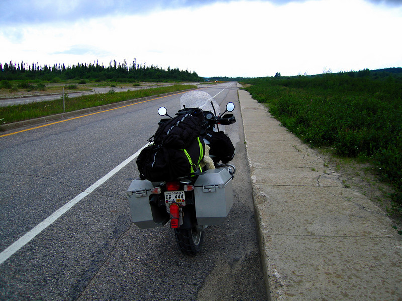 "Sidewalk <br /> Divided Road <br /> Ghost Town <br /> Trans-Labrador Highway <a href=""http://www.advrider.com/forums/showthread.php?t=217444"">http://www.advrider.com/forums/showthread.php?t=217444</a>"